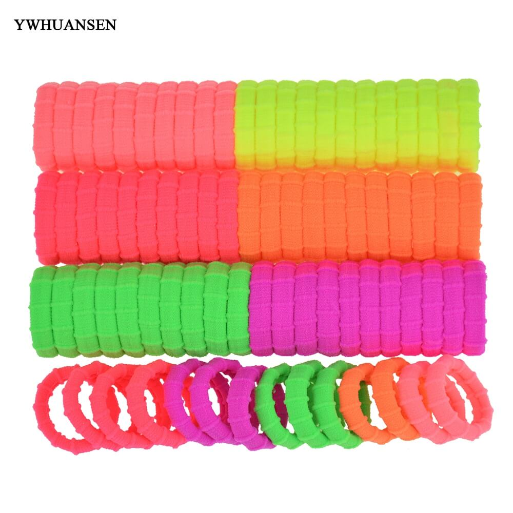 YWHUANSEN 40pcs/lot Hair bands for women Fashion Hair band Great Hair accessories Useful Elastic for the hair Nice Scrunchy(China (Mainland))