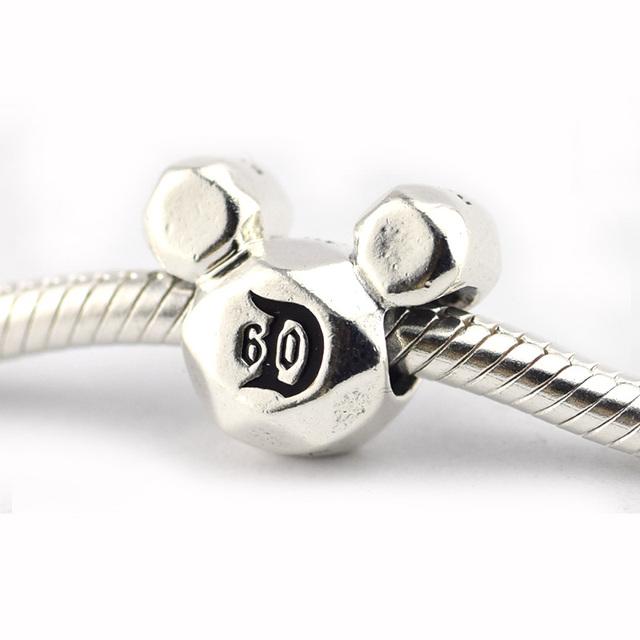 925 - серебристо-ювелирные 60-летию животных бусины подходящий европейский оригинальный браслет серебряный 925 мода DIY