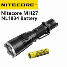 Buy Nitecore MH27 Flashlight nitecore NL1834 18650 3400mah battery XP-L HI V3 LED 1000LM RGB LED High Bright Torch Waterproof for $103.95 in AliExpress store