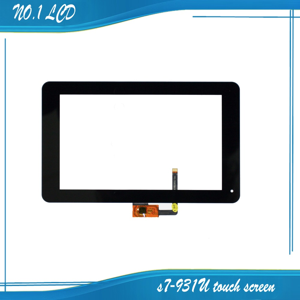 7'' inch For Huawei Mediapad S7 Lite s7-931U S7-931W touch screen with digitizer ,Black free shipping !!!(China (Mainland))