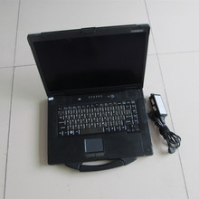 High Quality Used CF52 2G Laptop For Panasonic CF-52 Toughbook with Battery without HDD One year warranty DHL Free shipping(China (Mainland))