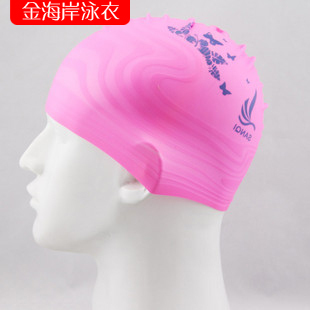 Quality water silica gel cap excellent general elastic swimming cap(China (Mainland))