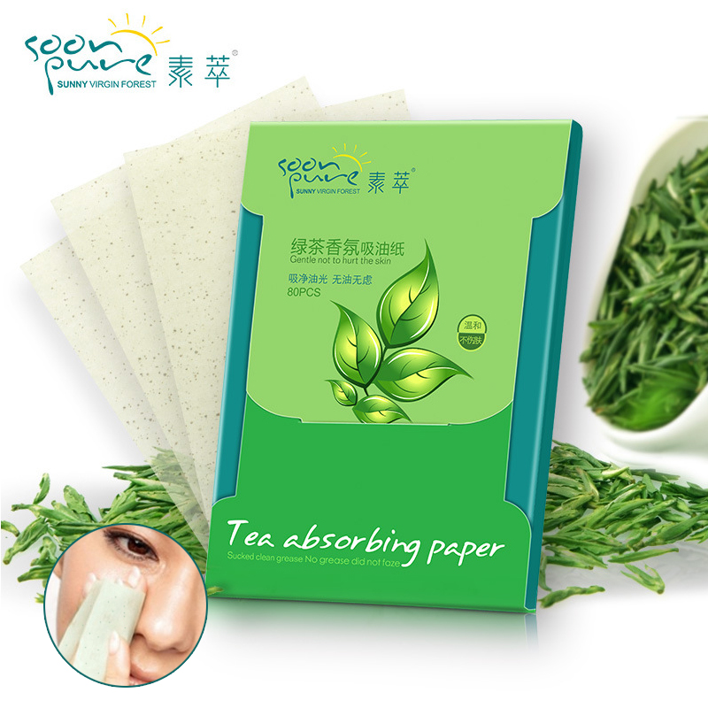 80pcs/Bag Tissue Papers Pro Powerful Makeup Oil Absorbing Face Paper Absorb Blotting Facial Cleaner Face Tools