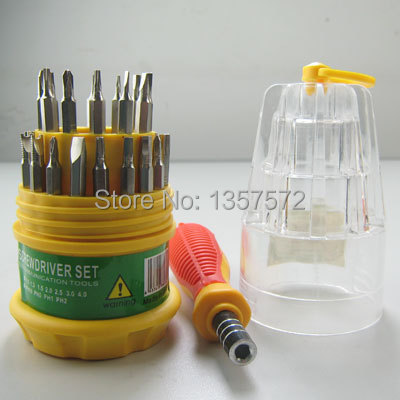 3set/lot Free Shipping Hot 31 in 1 Electroc Screwdriver Kit For PC Phone Repair Fix Hand Tool FXvuL<br><br>Aliexpress