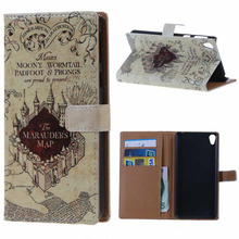 MSK Sony E5 case Magnetic Wallet Style Leather Stand Cover Flip Xperia 5.0 inch mobile phone coque - CN-Big World Trading Company store