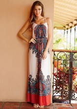 Boho Gypsy Style Online Clothing Bohemian Pattern Dress Printed