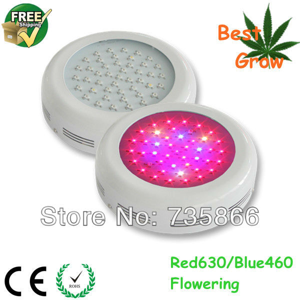 Grow Lights 2014 ufo led grow light 135w high power led grow lights for plant hydroponics growing Free Shipping(China (Mainland))