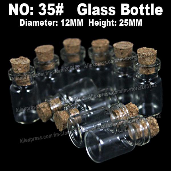 30pcs/lot 12x25mm glass bottle jars,plastic acrylic cosmetic nail-art box case,portable storage container,diy parts stones tools