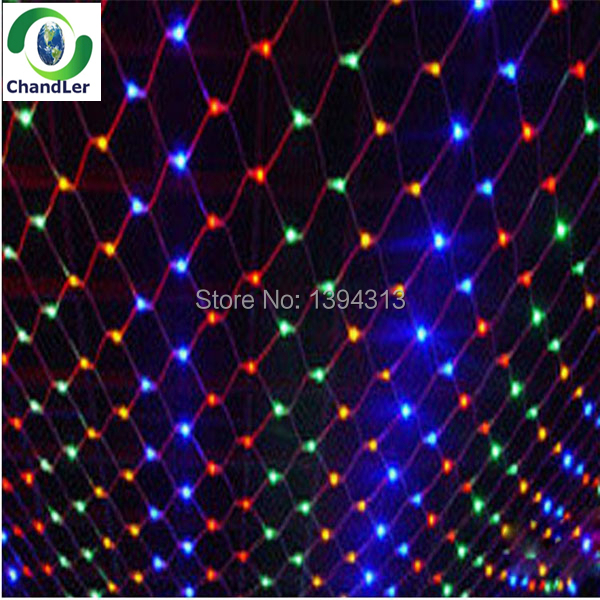 Newest Waterproof 1.5*1.5M 96 LED Mesh Net String Light Web Fairy Light For Christmas Wedding Party Xmas Decoration<br><br>Aliexpress