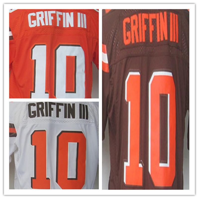 Mens #10 Robert Griffin III Jersey 2017 Rush Salute to Service High Quality Football Jerseys(China (Mainland))