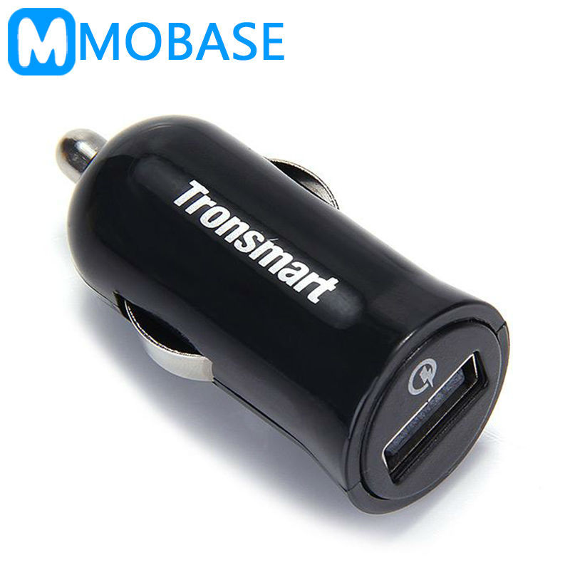 [Qualcomm Official Certified]Tronsmart TS-CC1Q Quick Charge 2.0 Stand-up Car Charger for Samsung Galaxy S6 HTC M9 Nexus 6 Xiaomi(China (Mainland))