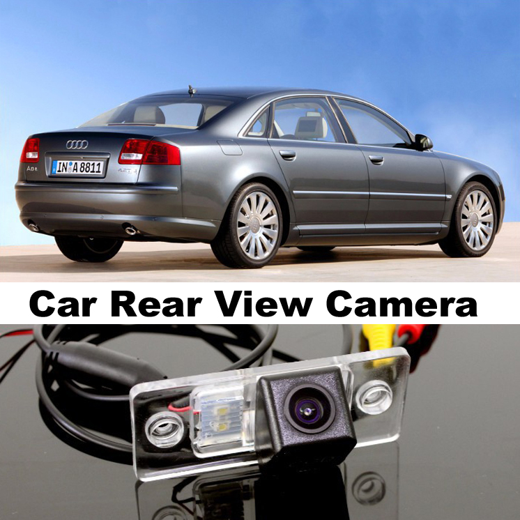 Car Camera For Audi A8 A8L S8 D3 4E 2002~2007 High Quality Rear View Back Up Camera For TOPGEAR Friends Use   CCD + RCA(China (Mainland))