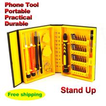38 en 1 Multi Repair Tool caja magnética apertura Kit de herramientas destornillador para teléfonos celulares iPhone 6 más 5S envío gratis