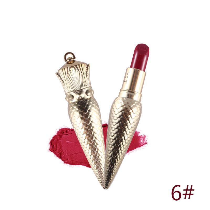 Value Pack 2 pçs/lote Um Luxuoso Rainha Cetro YCID Batom Matte + um Sharp Cônico Pequeno Batom Cor de Maquiagem Batom Lábio vara