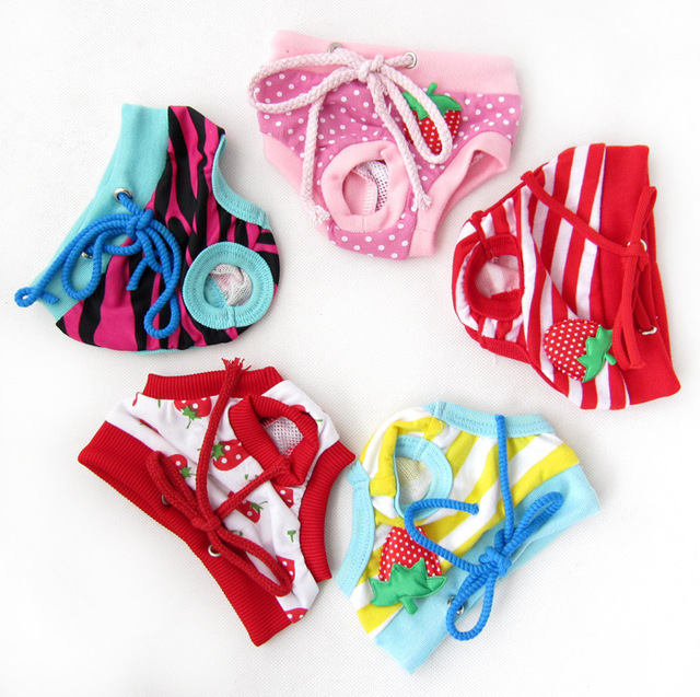 Pet Dog Pants Underwear; Puppy Dogs Health Sweat Pants Underwear Shorts; Pet Physiological Period menstrual period Pants