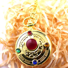 New Arrival Hot Sale Anime Series Accessory Sailor Moon Usagi Tsukino Pocket Watch 2 Colors High