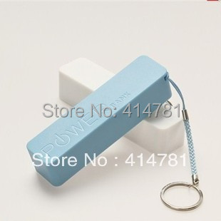 Battery 2600mAh USB Power Bank External Battery Charger with Fragrance For Mobile Phones Tablet PC MP3 MP4 4PCS/Lot