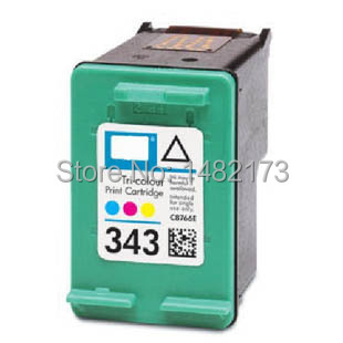 For HP 343 C8766E Color Cheap Ink Cartridge for HP DJ 6540/6620/6840/PSC 1500/1510/1600/1610 Printer(China (Mainland))