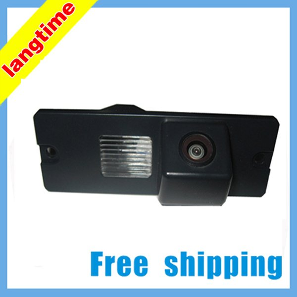 Free shipping--High resolution! CCD effect !special car rearview cameral for MITSUBISHI Pajero,Zinger.lingYue ,water proof(China (Mainland))