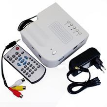 "Free Shipping UC28 Portable Led Mini HDMI Video Game Projector,Digital Pocket Home Cinema Projetor for 80"" Cinema(China (Mainland))"