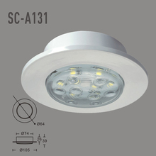 IP20 DC12V LED Downlight 8PCS SMD 5050  Outdoor Lihgting LED Luminaria Teto( WW,CW)(China (Mainland))
