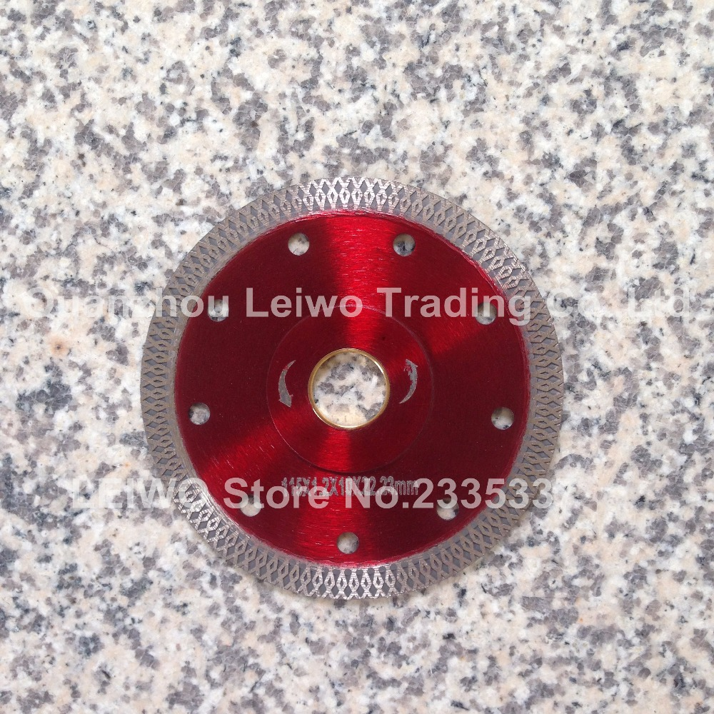 Turbo Saw Blade 4.5 inch (115 mm) for Porcelain Ceramic Tile Marble Cutting Blade Disc Cutter Diamond Disk Inner Hole 22.23 mm(China (Mainland))
