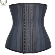 Latex waist trainer Slimming latex Belt cincher corset slimming modeling strap hot shapers body shaper slimming latex corset(China (Mainland))