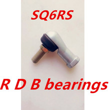 Free Shipping 4pcs/lot SQ6 SQ6RS 6mm Ball Joint Rod End Right Hand Tie Rod Ends Bearing SQ6RS(China (Mainland))