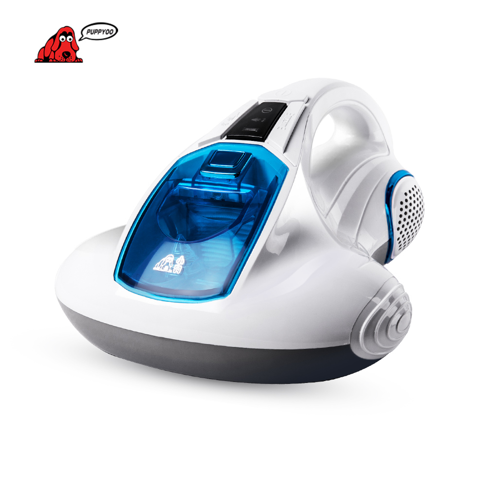PUPPYOO Vacuum Cleaner Bed Home Collector UV Acarus Killing Household Vacuum Cleaner for Home Mattress Mites-Killing WP601()