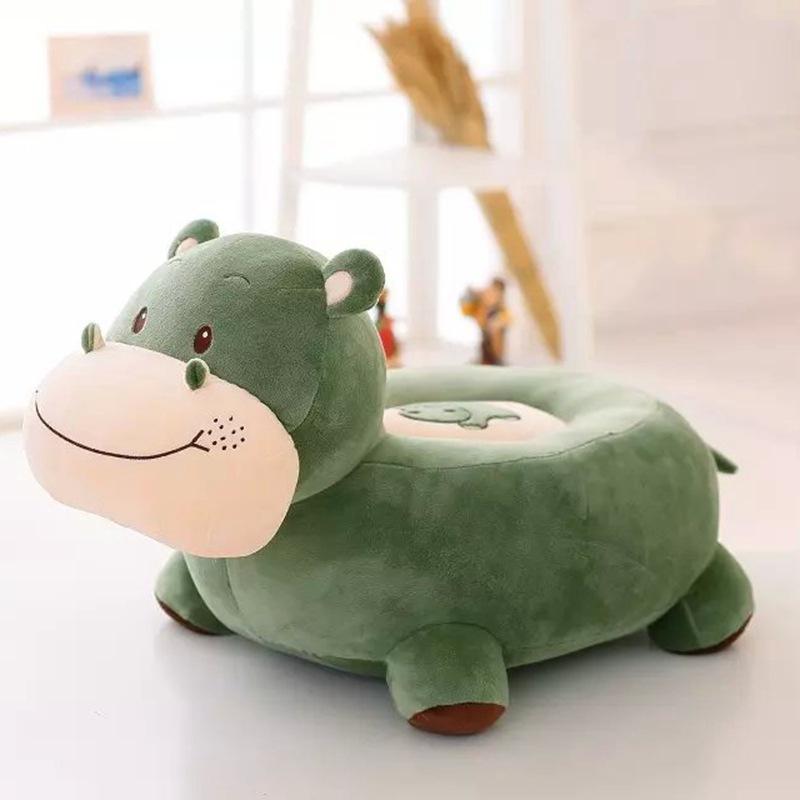 new plush high quality hippo sofa toy cartoon green hippo sofa gift about 60x45x40cm<br><br>Aliexpress