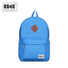 Unique Unisex Backpack Women Men's Bag Shoe Pocket Headphone Jack Sample Fashion Design For Colleage Student Hot Knapsack D020-4(China (Mainland))