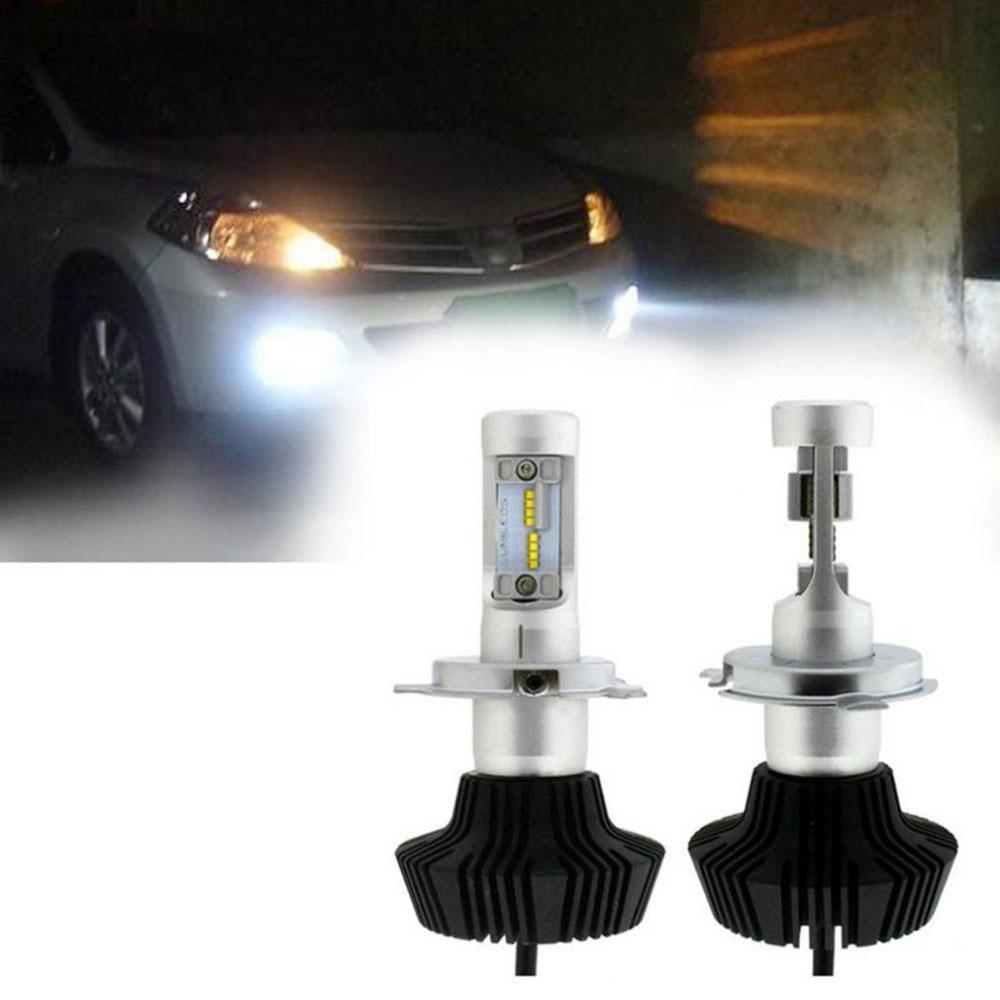 Pair Car Truck K6 H4 160W LED Headlights High Power 6000K LED Conversion Kit High Low Beam Bulbs Super Bright 16000LM Hot