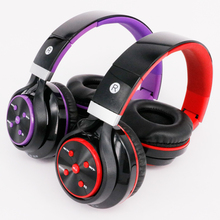 Hot Bluetooth Headphones Earphone Stereo Foldable Headset Support TF card with Mic Microphone for iPhone 6s plus Galaxy HTC