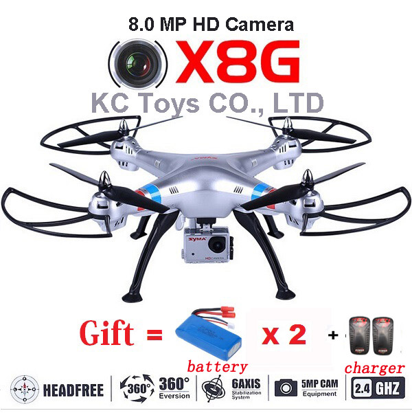 SYMA X8G FPV WiFi RC helicopter drone quadcopter H...