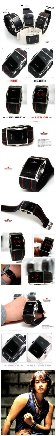 fashion silica gel watch line led sports electronic watch type casual mens brand watches