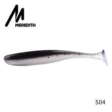 Meredith Easy Shiner рыболовные приманки 50 мм 75 мм 100 мм 130 мм Воблер для карпфишинга мягкие приманки силиконовые искусственные двойные цветные прима...(China)