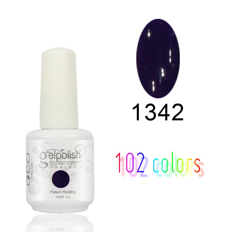 15ml Choose 1PCS Fashion Colors Soak Off Nail Gel Polish UV Gel Polish free shipping(China (Mainland))