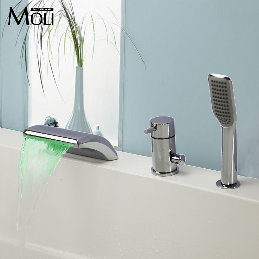 Online kopen Wholesale led light shower temperature control uit ...