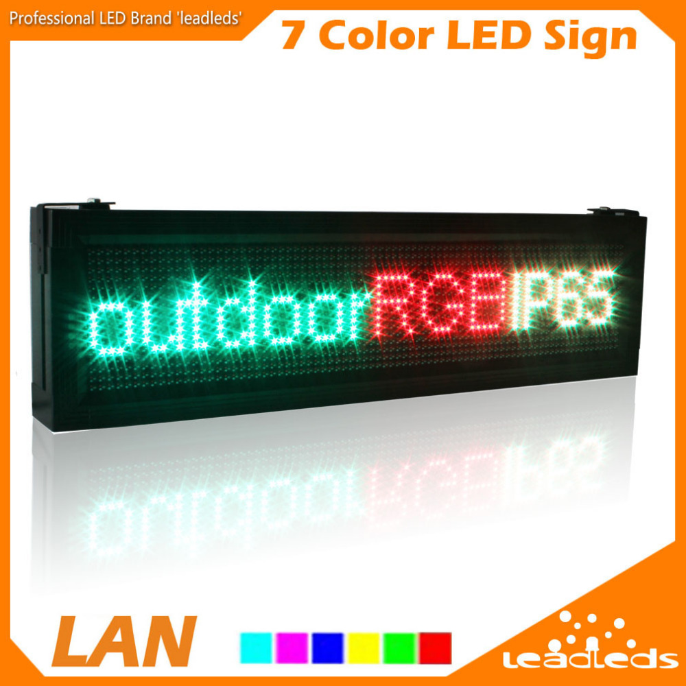 Buy p10 full color rgb led display screen for Exterior led screen