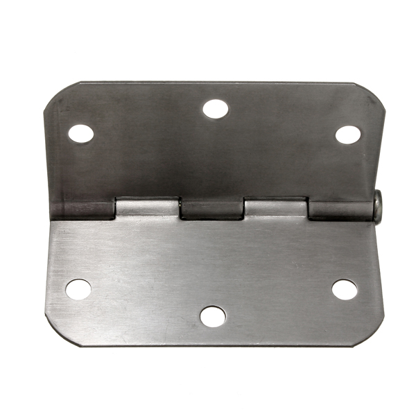 High Quality 3.5inch Stainless Steel Brushed Satin Nickel Door Butt Hinge Cabinet 5/8 inch Home DIY(China (Mainland))