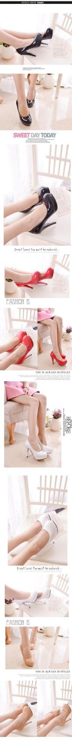 2017 New Women's Shoes Sexy White Pumps Platforms Pumps Four Seasons Solid Shoes Thin Heel shoes.DFGD-05B2