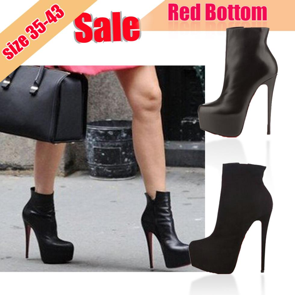 Online Buy Wholesale red bottom boots from China red bottom boots ...