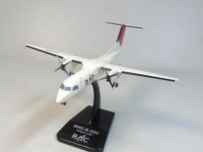hogan 1:200 DHC-8-300 RAC-Ryukyu Air Commuter JA8936 Diecast airplane models(China (Mainland))