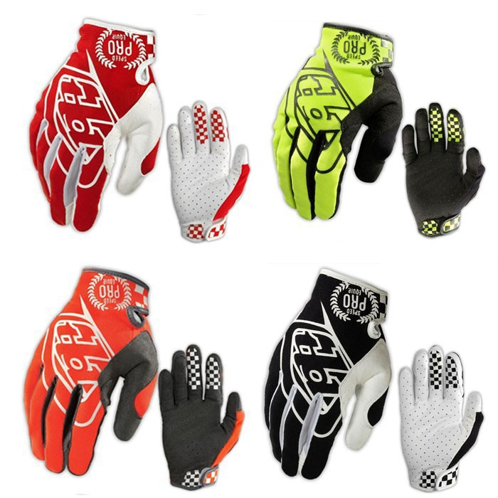 NEW Troy Lee Designs motocross gloves TLD mountain bike full finger gloves motorcycle racing gloves cycling gloves(China (Mainland))