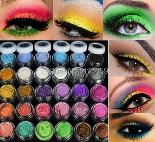 30 Colors Eye Shadow Powder New Arrival Colorful Makeup Mineral Eyeshadow(China (Mainland))