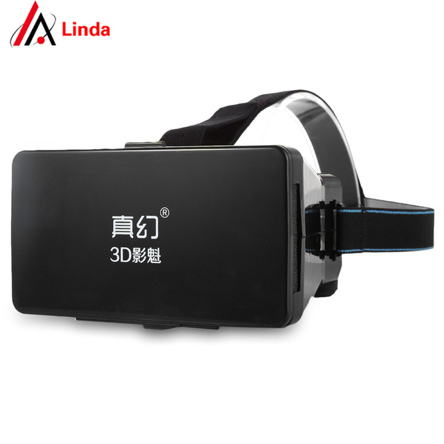 """Hot Sale Google Cardboard Virtual Reality VR 3D Mobile Phone 3D Glasses 3D Movies Games With Resin Lens For 3.5 to 5"""" Smartphone"""