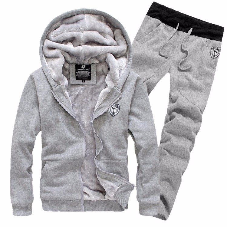 2015-New-Arrive-Winter-Tracksuits-Hooded-Men-Male-Hoodies-Sport-Suits-Fur-Lining-Jacket-Pants-and (1)