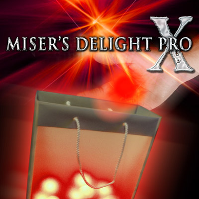 Misers Delight Pro X from Mark Mason (Red/blue Light) - magic props/as seen on tv High quanlity/Magic Tricks/(China (Mainland))