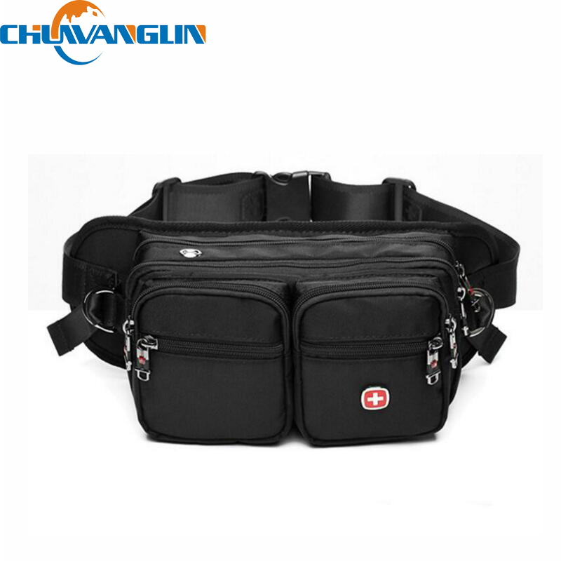 E528 Hot oxford Waist Pack Men A caminhada Bag Multifunctional Al aire libre Waterproof Travel Belt Bag Security Money Pouch(China (Mainland))