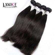 Brazilian Virgin Hair Straight 100% Unprocessed Human Hair Weave Bundles Soft Thick 8A Grade Brazilian Hair Extensions 4Pcs Lot(China (Mainland))